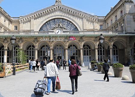 Transferts vers et depuis les gares parisiennes